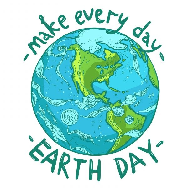 april clipart earth day