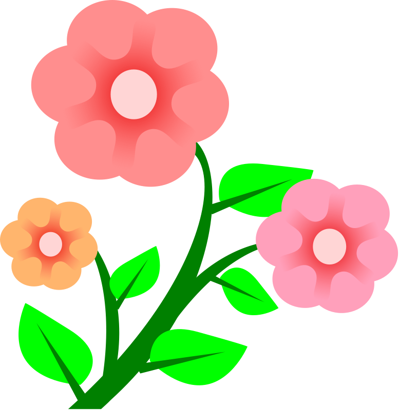 Google . April clipart flower