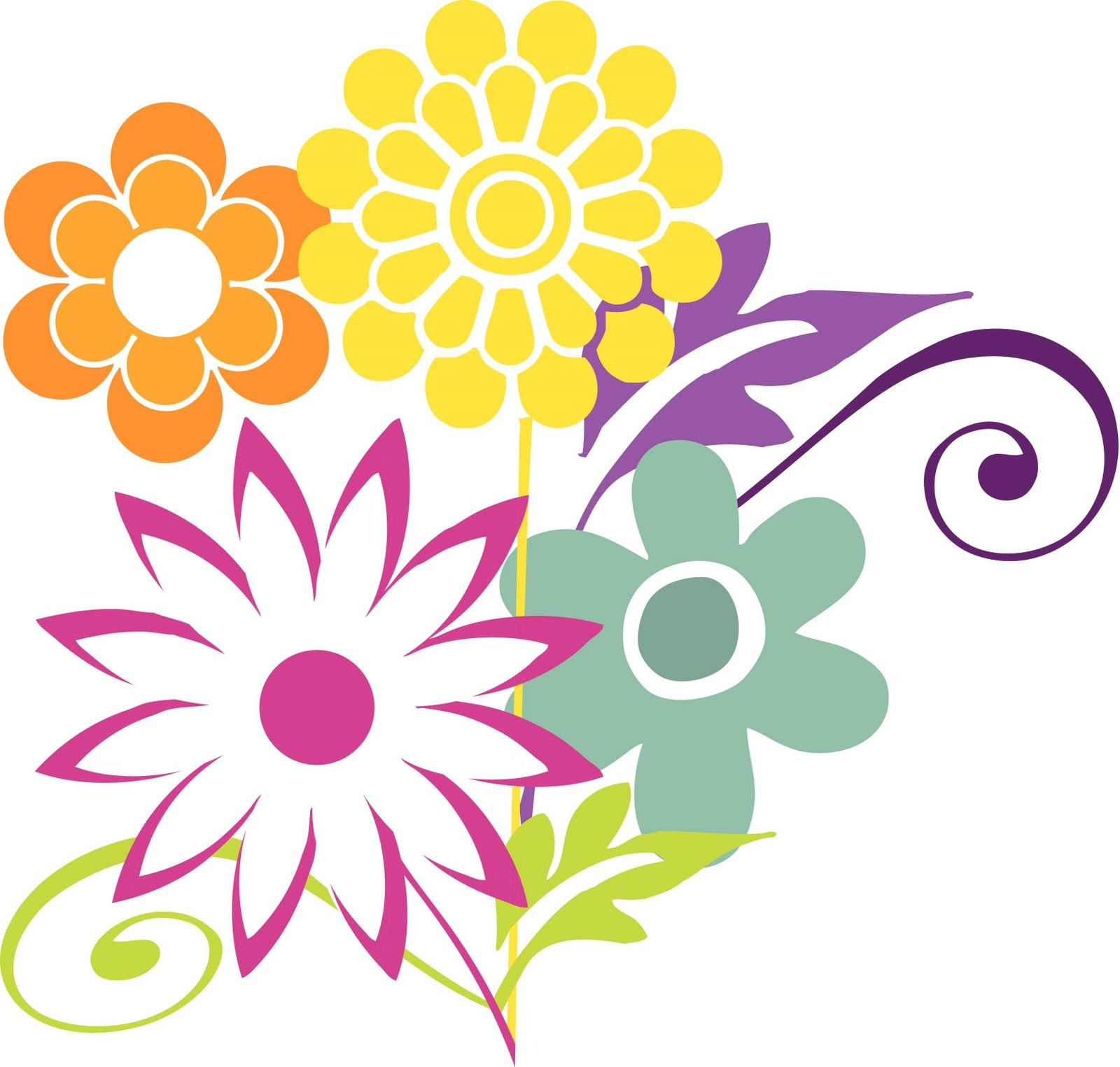 April clipart flower. Free flowers best clip
