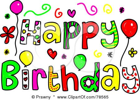 Free birthdays . April clipart happy birthday