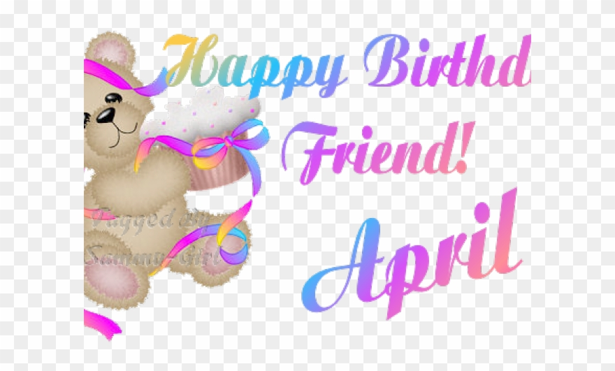 Png download . April clipart happy birthday