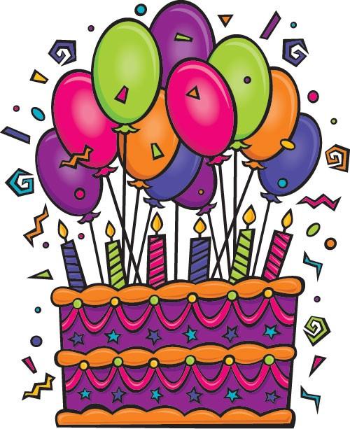 April clipart happy birthday. Janette leduc community living