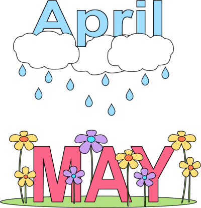 April clipart may. Free cliparts download clip