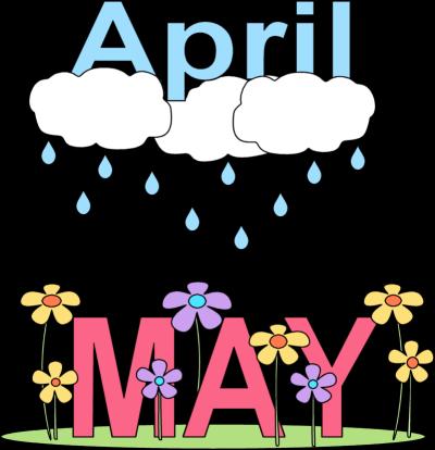 april clipart may