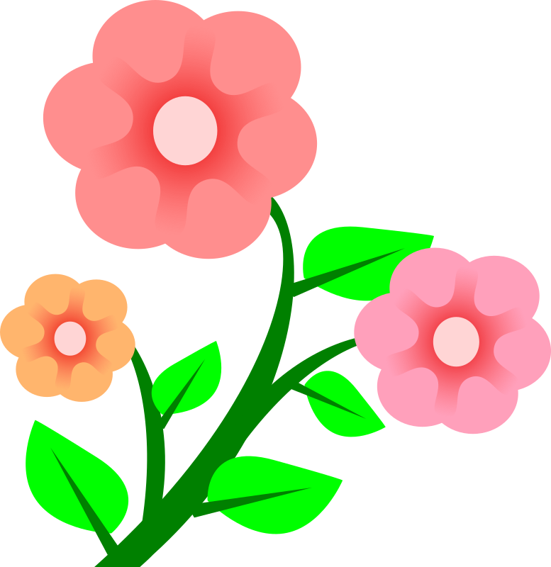 Flowers medium image png. April clipart pretty flower