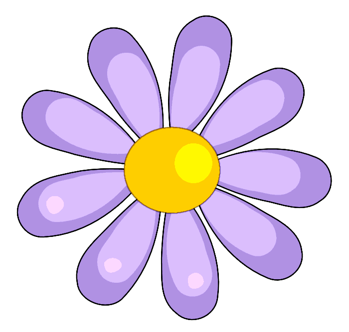 April clipart pretty flower. Flowers may free clip