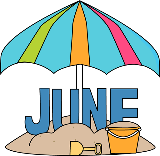 Free clip art of. March clipart june month