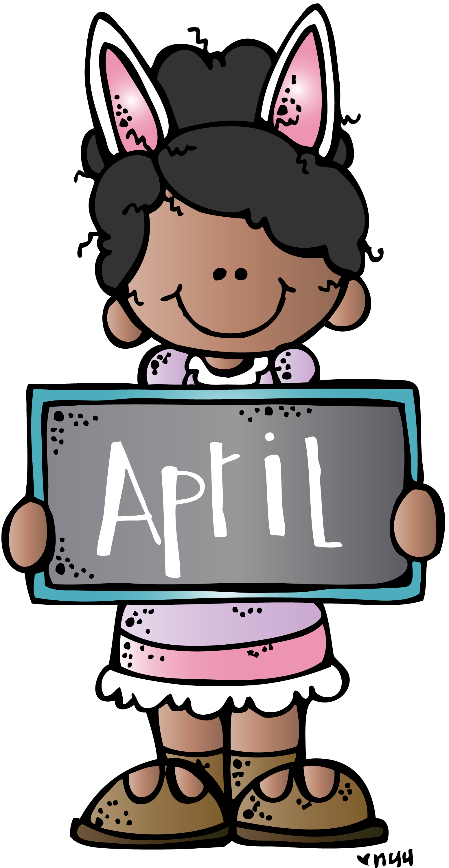 April clipart school. Mkb c melonheadz teaching