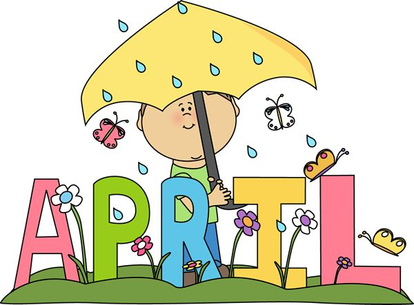 April clipart spring.  best clip art