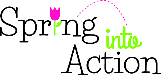 April clipart spring. Into action