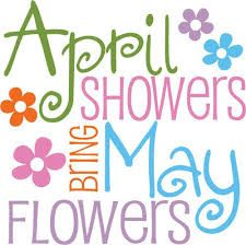 April clipart spring. Clip art shower arts