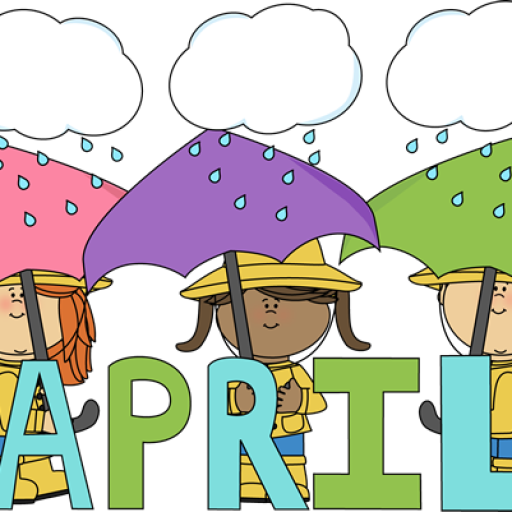 Showering clipart aprilclip. April new year hatenylo