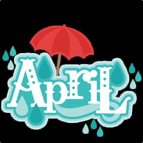 Background blue transparent . April clipart text