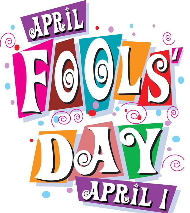 Fools day free png. April clipart text