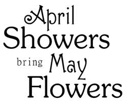 April clipart text. Showers bring may flowers