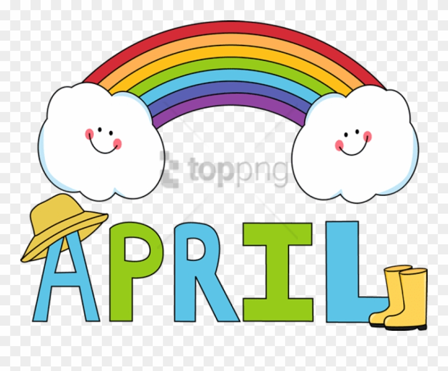 April clipart transparent. Free png image with