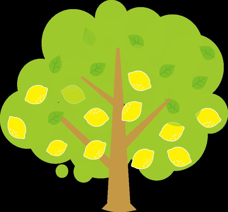 April clipart tree. Free cliparts lemon