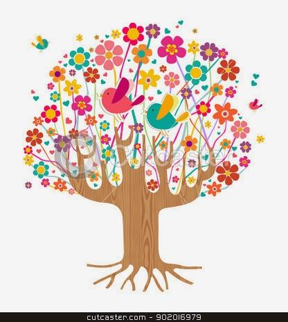 April clipart tree. The kourt room