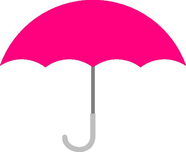 Pink clip art at. April clipart umbrella
