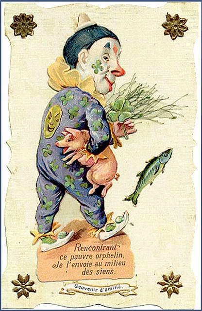 best fool antique. April clipart vintage
