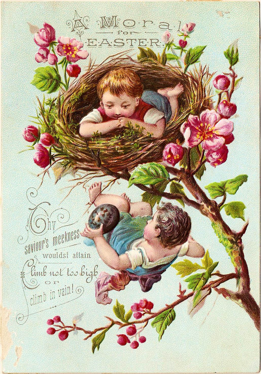 Catnipstudiocollage free clip art. April clipart vintage