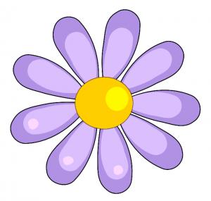 April clipart wildflower. Birthdays flowerclipart