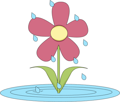 April clipart wildflower. Garden club myfico forums