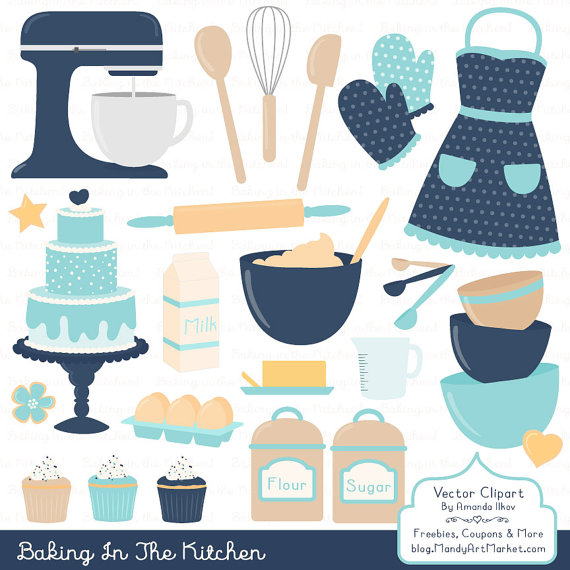 Professional baking vectors in. Apron clipart baby