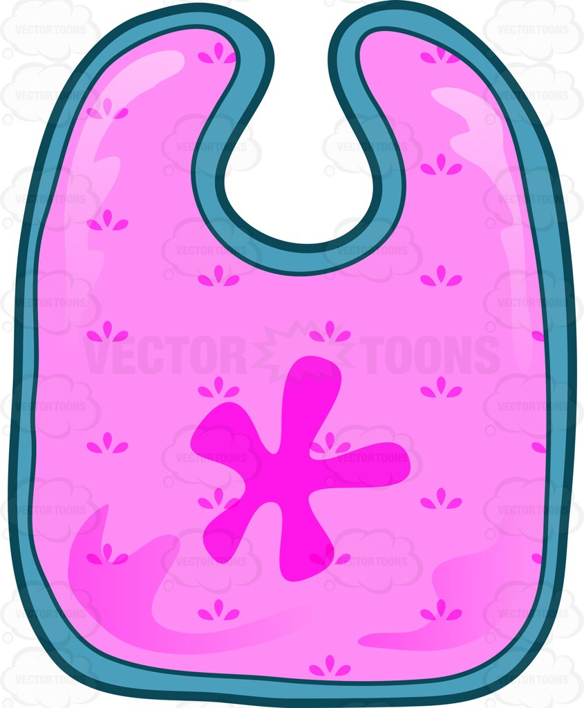 Napkin clipart pink. Collection of bib free