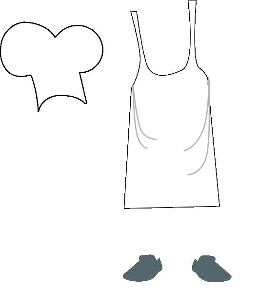 . Apron clipart chef apron