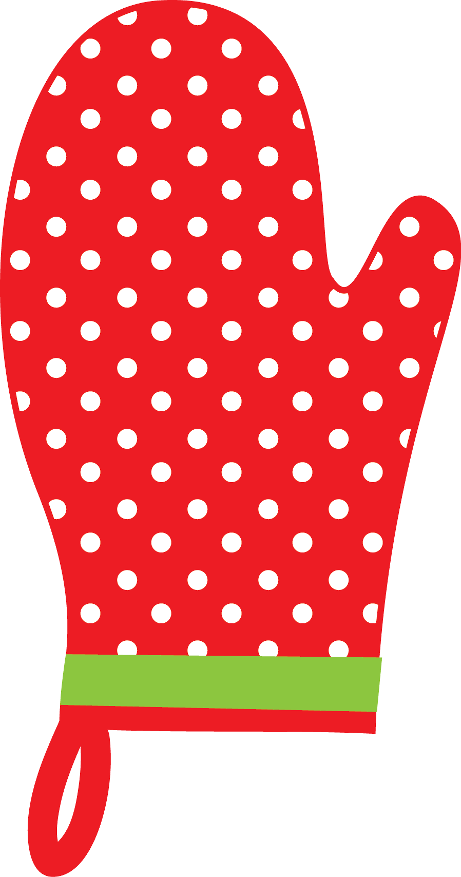 Christmas oven mitt clip. Scrapbook clipart kitchen
