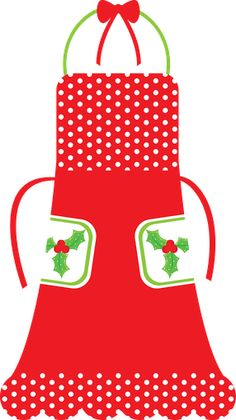 Apron clipart christmas. Free red cliparts download