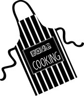 Search results for clip. Apron clipart cooking