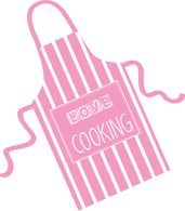 Search results for pink. Apron clipart cooking