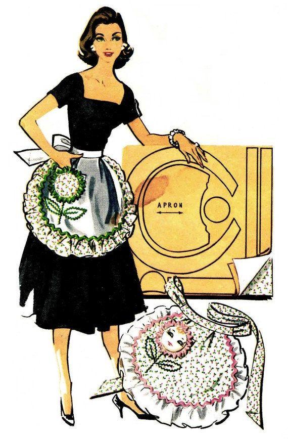 Apron clipart half apron.  best aprons images