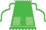 Search results for aprons. Apron clipart half apron