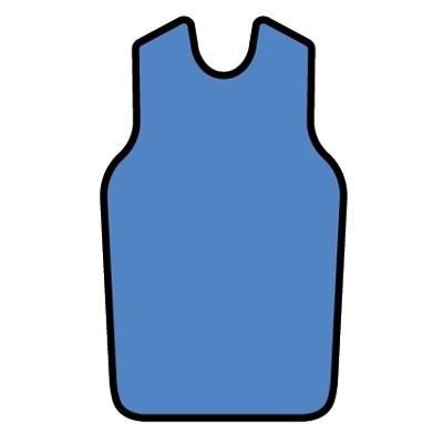 Demi waist ring half. Apron clipart lead apron