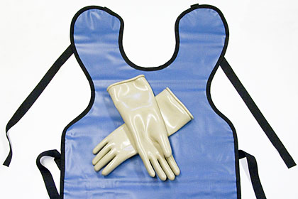 Safety clothing gloves aprons. Apron clipart lead apron