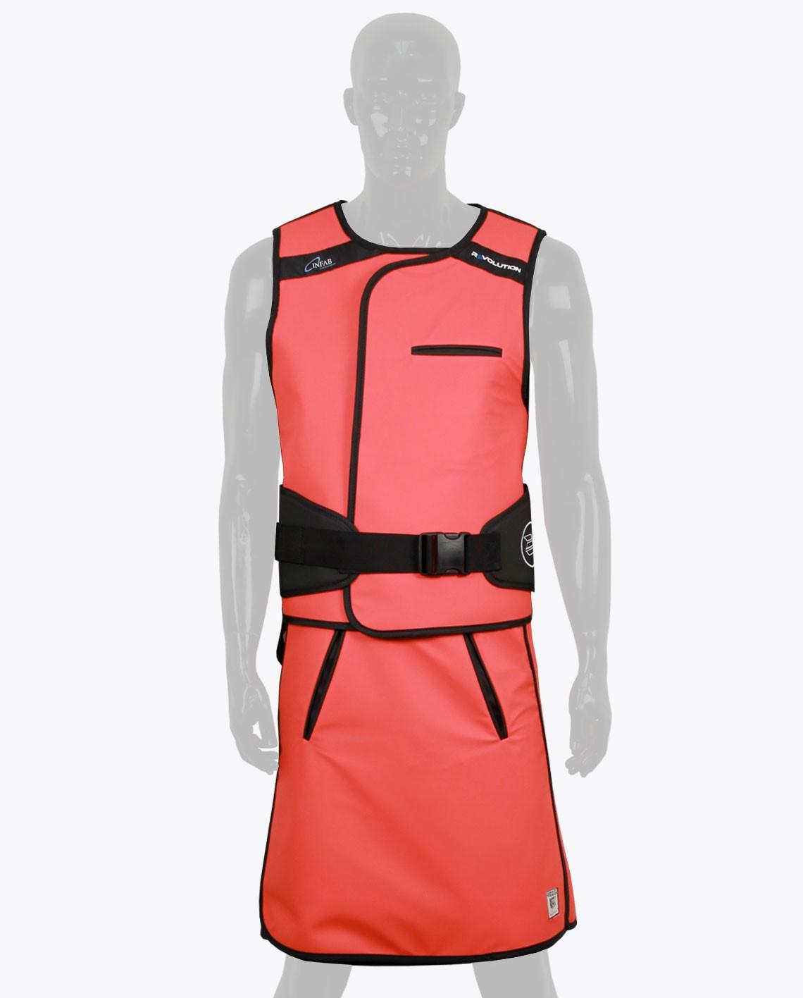 Apron clipart lead apron. Infab revolution lumbar vest