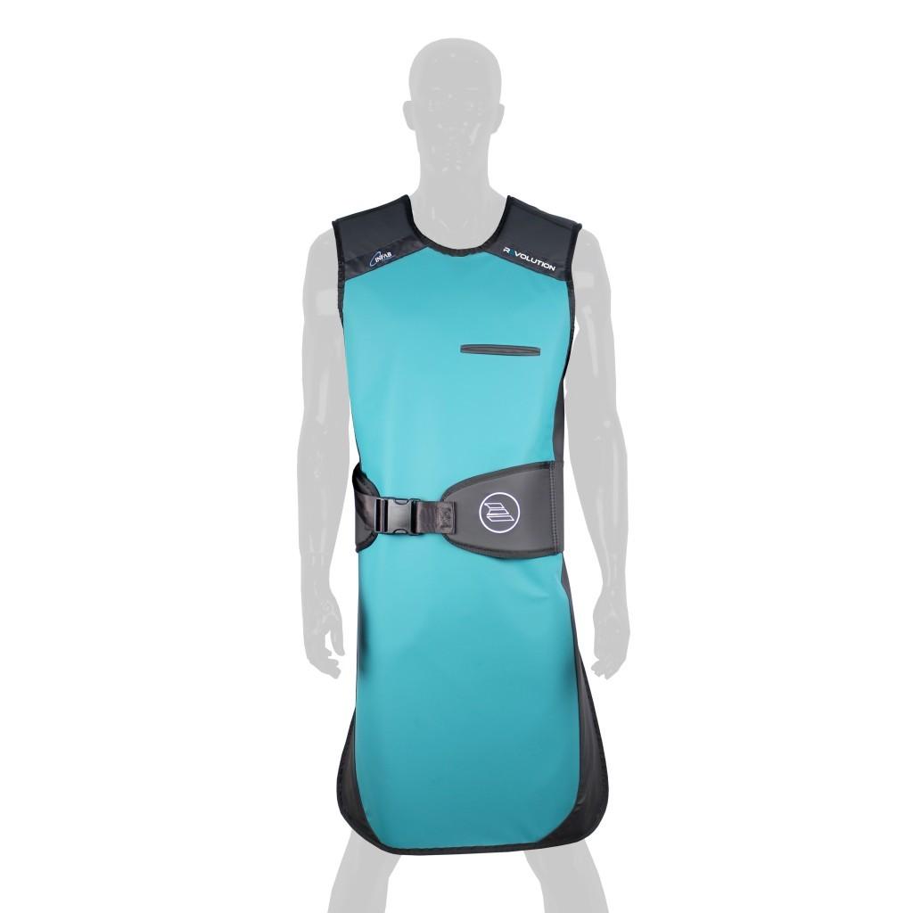 Infab revolution front protection. Apron clipart lead apron