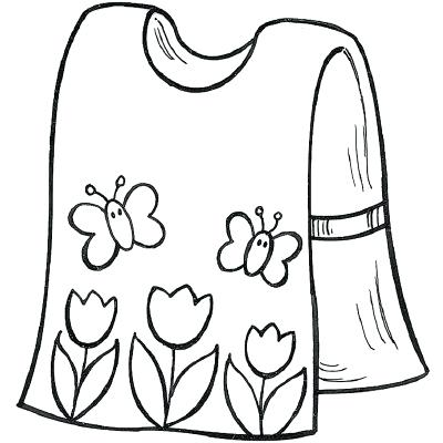 Apron clipart paint smock. Forexoption xyz sewing crafts