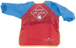Faber castell young artist. Apron clipart paint smock