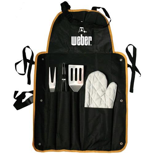 Piece bbq sets with. Apron clipart promotional