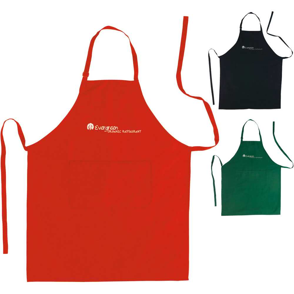 With pockets custom logo. Apron clipart promotional