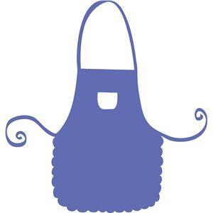 Apron clipart purple apron. I think m in