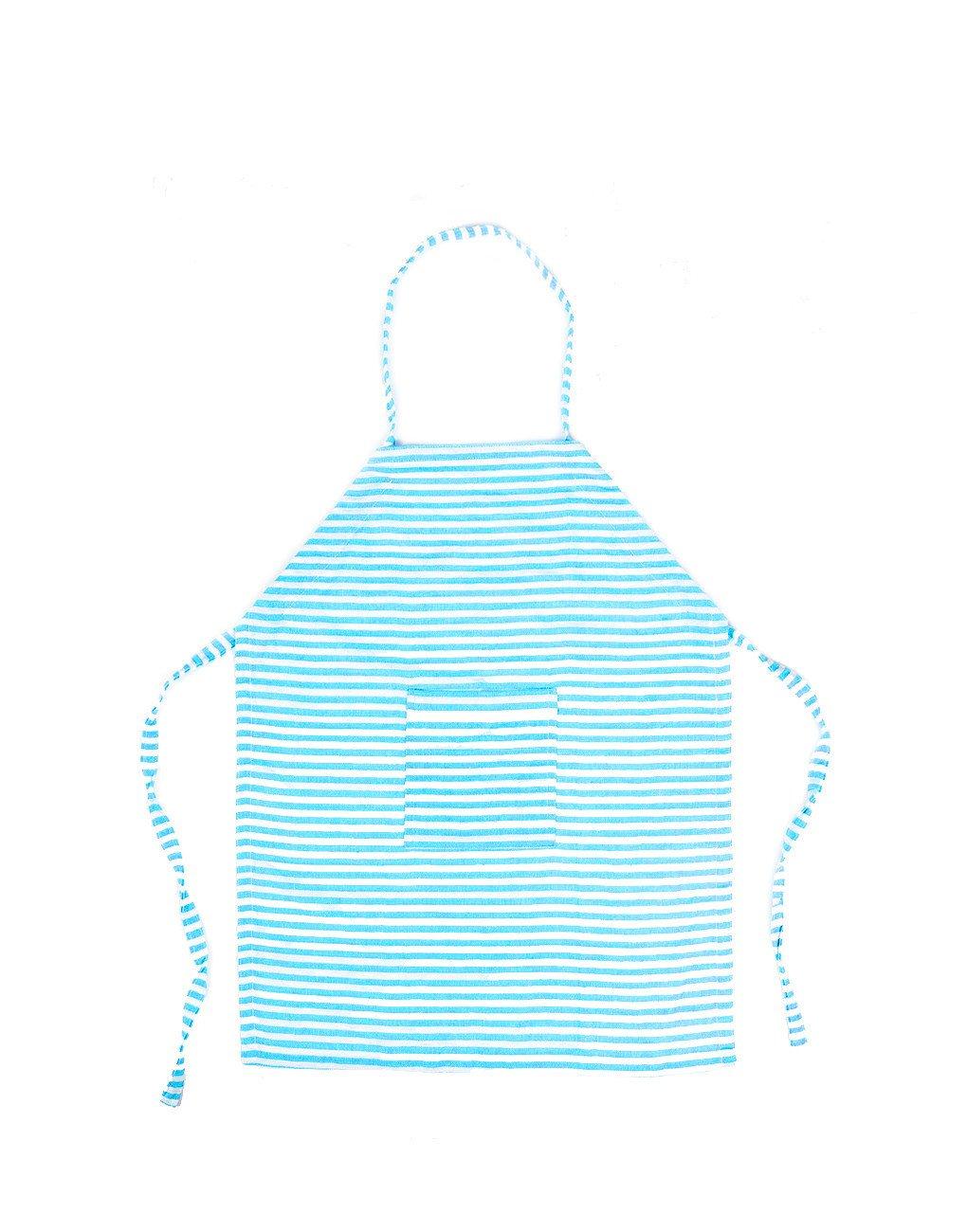Kids turquoise stripe fair. Apron clipart striped