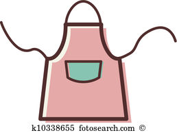 Apron clipart vector. Station