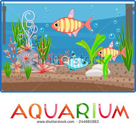 Station . Aquarium clipart