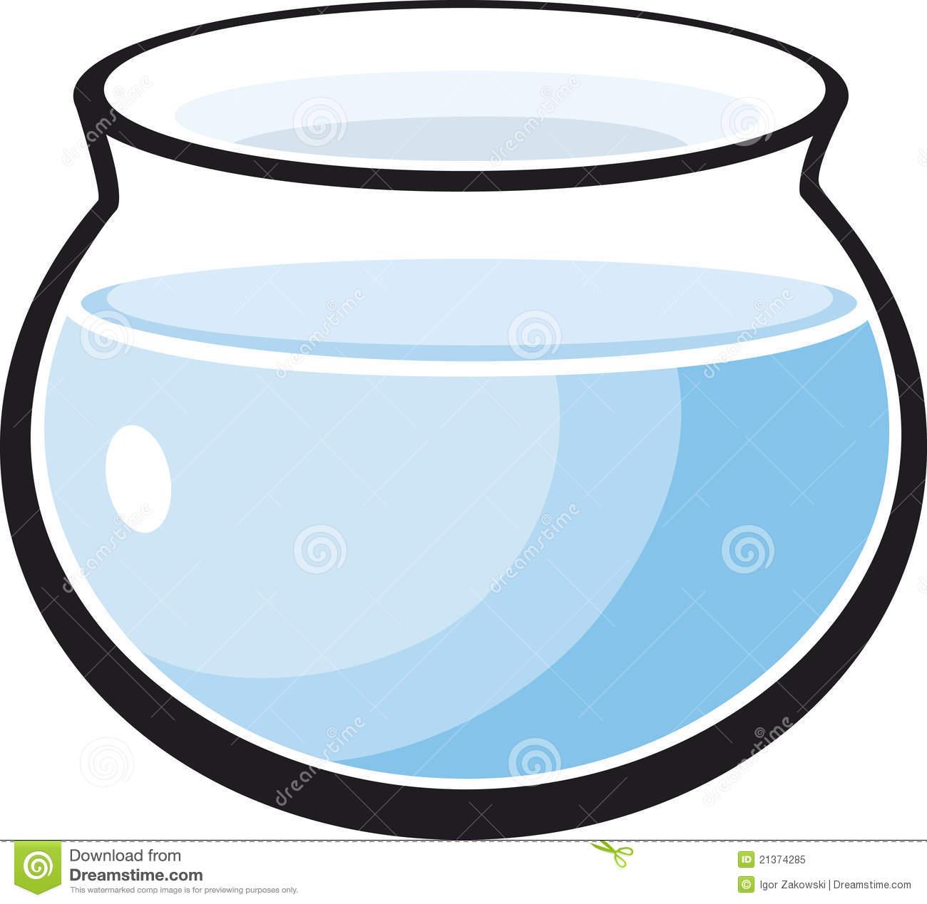 Empty . Bowl clipart aquarium