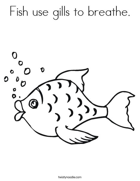 Breathe clipart animal breathing. Fish use gills to